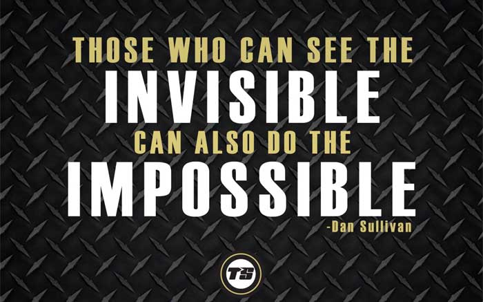 Invisible to do the Impossible