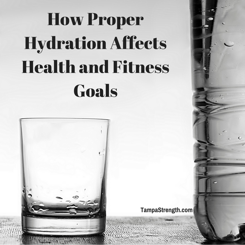 How Proper Hydration Affects Health and Fitness Goals