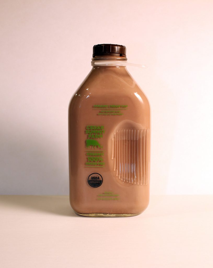 Chocolate Milk is a great post workout protein source