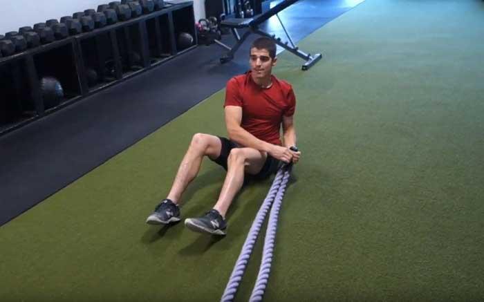 Battle Rope Circuit Training