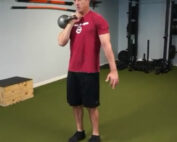 Shawn Balow using Kettlebell