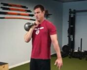 Shawn Balow using Kettlebell