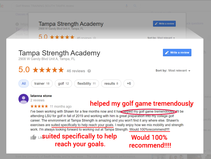 South Tampa Personal Training Review Review
