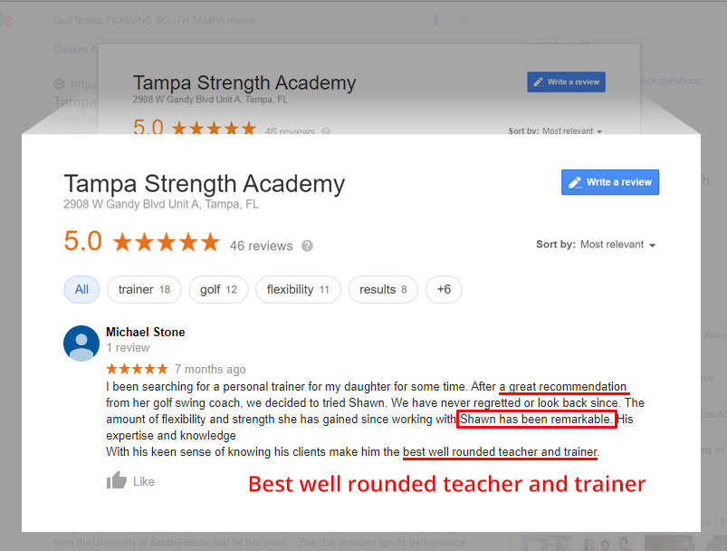 South Tampa Personal Training