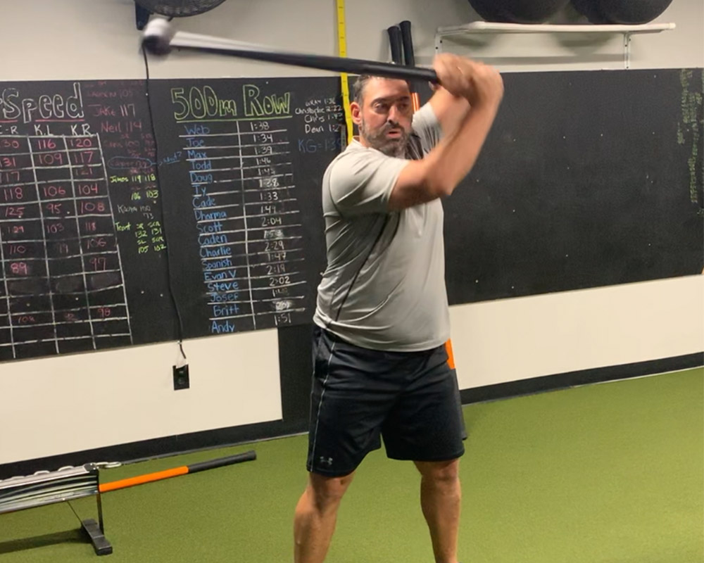 South Tampa Personal Training - Steel Mace